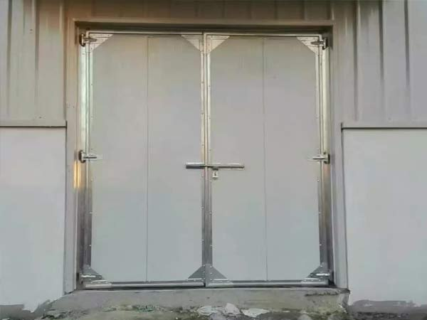 仓库工业平开门