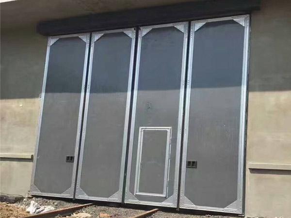 小型工业折叠门