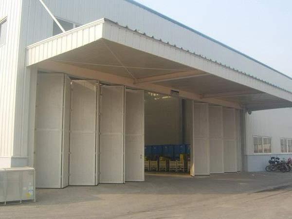 大型车间工业折叠门