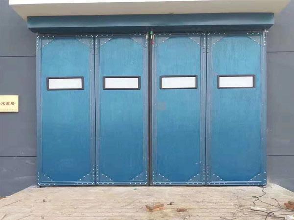 加固型工业折叠门