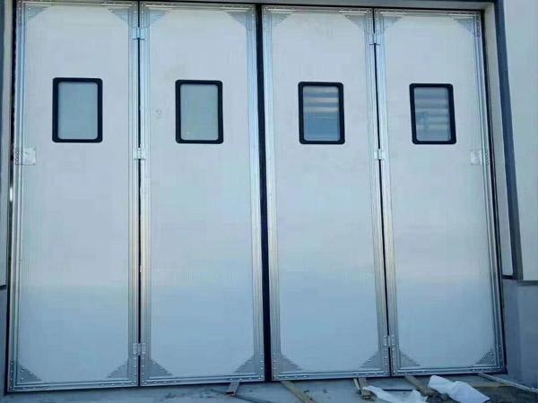 手动工业折叠门