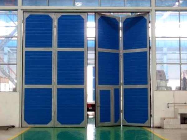 电动工业折叠门